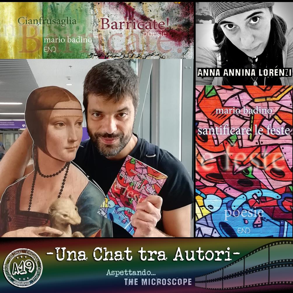 """Anna """"Annina"""" Lorenzi e Mario Badino - Una chat tra Autori."""